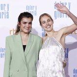 Amaia Romero y María Villar ('OT'), en la premiere de