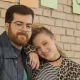 Adrián Pino y Catalina Sopelana en 'El vecino'