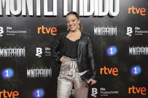 Noelia ('OT 2018') en la premiere de 'La Caza. Monteperdido'