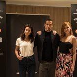 María Pedraza, Jesús Mosquera y Cristina Castaño, protagonistas de 'Toy Boy'