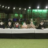 Los concursantes de 'GH Dúo', durante la prueba de inmunidad de la Gala 11