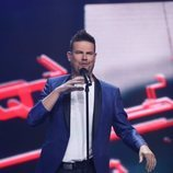 Raúl, cantando en la Gala 5 de 'La mejor canción jamás cantada'