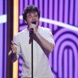 Miki Núñez canta en la Gala 5 de 'La mejor canción jamás cantada'