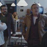 Peio, Koldo y Antxón en la quinta temporada de 'Allí abajo'
