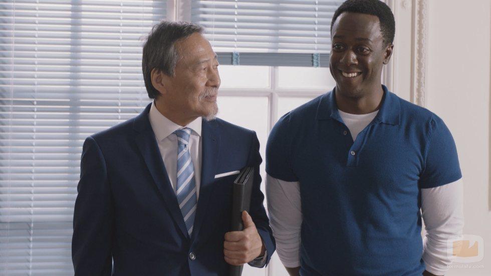 Kao Chenmín y Jimmy Castro, incorporaciones de la quinta temporada de 'Allí abajo'