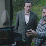 Cristóbal Benjumea y Epi en la quinta temporada de 'Allí abajo'