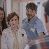 Irene, Dolores y José en la quinta temporada de 'Allí abajo'
