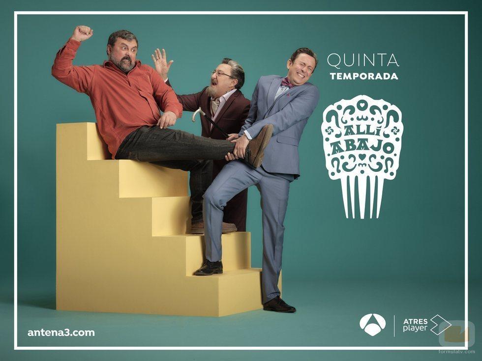 Epi se pelea con los Benjumea en este póster promocional de 'Allí abajo'