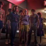 El reparto de 'Stranger Things', en su tercera temporada