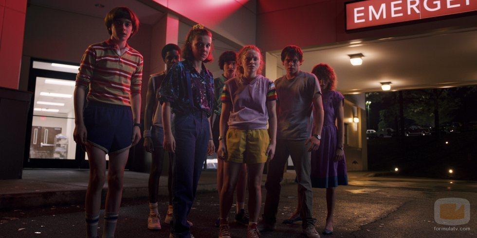 El reparto de 'Stranger Things', en su tercera temporada