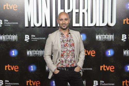 Alain Hernández en la premiere de 'La caza. Monteperdido'