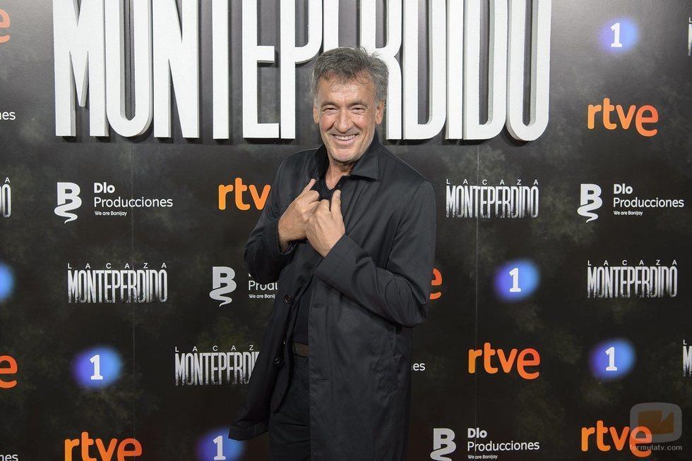 Francis Lorenzo en la premiere de 'La caza. Monteperdido'