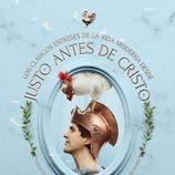 Manio Sempronio, muy imperial con un gallo en un póster de 'Justo antes de Cristo'