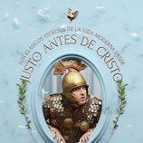 Eduardo Antuña como Antonino en un póster de 'Justo antes de Cristo'