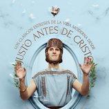 Julián López saluda a la plebe en un póster de 'Justo antes de Cristo'