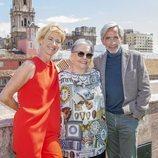 Ana Duato, Imanol Arias y María Galiana posan en el Festival de Málaga