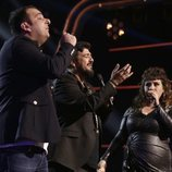 El equipo de Antonio Orozco canta