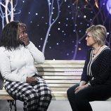 Carolina Sobe y la madre de María Jesús durante 'GH Dúo: Límite 24 horas'