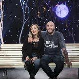 Kiko Rivera junto a la hermana de Irene Rosales en 'GH Dúo: Límite 24 horas'