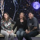 Kiko Rivera e Irene Rosales junto a la hermana de esta en 'GH Dúo: Límite 24 horas'