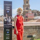Ana Duato, Merche en 'Cuéntame cómo pasó', posa en el Festival de Málaga
