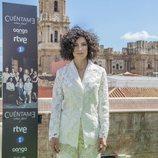 Irene Visedo, Inés en 'Cuéntame cómo pasó', posa en el Festival de Málaga