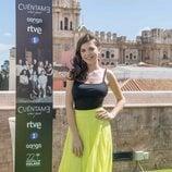 Paula Gallego, María en 'Cuéntame cómo pasó', posa en el Festival de Málaga