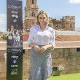 Paloma Bloyd, Deborah en 'Cuéntame cómo pasó', posa en el Festival de Málaga