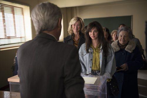 María acude a votar en la temporada 20 de 'Cuéntame cómo pasó'