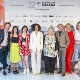 Reparto completo de 'Cuéntame cómo pasó' en el Festival de Málaga