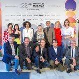 Reparto y equipo técnico de 'Cuéntame cómo pasó' en el Festival de Málaga
