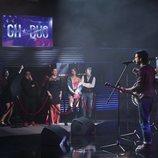 El grupo Morat sorprende a los concursantes de 'GH Dúo' en la Gala 12