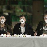 Alejandro Albalá, Irene Rosales y María Jesús, en la prueba de inmunidad de la Gala 12 de 'GH Dúo'
