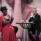 Jordi González entrevista a Carolina Sobe, en la Gala 12 de 'GH Dúo'