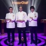 Jordi Cruz, Pepe Rodríguez y Samantha Vallejo-Nágera, miembros del jurado de 'MasterChef'