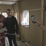 Quique Peinado les saca una foto a Fernando Torres y a Hakuho Sho en 'Leyendas'