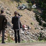 Un accidente de coche en el primer capítulo de 'La caza. Monteperdido'