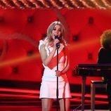 Natalia Rodríguez, en la sexta gala de 'La mejor canción jamás cantada'