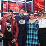 El jurado de la sexta gala de 'La mejor canción jamás cantada' junto a Roberto Leal