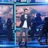 David Civera sobre el escenario de 'La mejor canción jamás cantada', en la sexta gala
