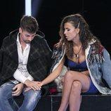 Alejandro Albalá y Sofía Suescun se dan la mano en la Gala 13 de 'GH Dúo'