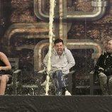 Alejandro Albalá sufre la caída de la papilla en la Gala 13 de 'GH Dúo'