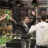 Los concursantes de 'GH Dúo' celebran que son finalistas en la Gala 13