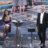 Sofía Suescun en el plató de 'GH Dúo' en la Gala 13