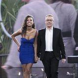 Sofía Suescun y Jordi González en el plató de la Gala 13 de 'GH Dúo'