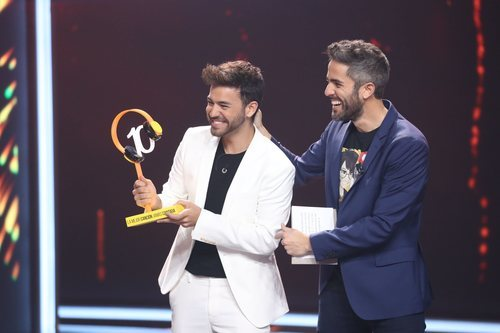 Agoney, ganador de la séptima gala de 'La mejor canción jamás cantada'