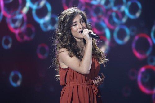 Julia Medina, en la séptima gala de 'La mejor canción jamás cantada'