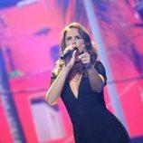 Nuria Fergó en la séptima gala de 'La mejor canción jamás cantada'