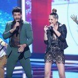 Jorge González y Mireia Montávez en la séptima gala de 'La mejor canción jamás cantada'
