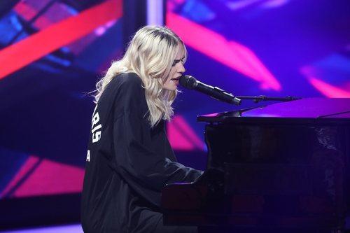 Brisa Fenoy en la séptima gala de 'La mejor canción jamás cantada'